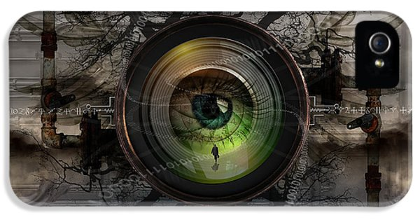 The Camera Eye IPhone 5 Case by Keith Kapple