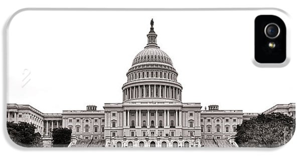 Washington D.c iPhone 5 Case - The Capitol by Olivier Le Queinec