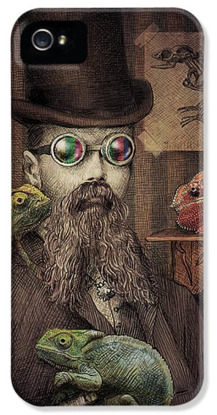 The Chameleon Collector IPhone 5 Case by Eric Fan