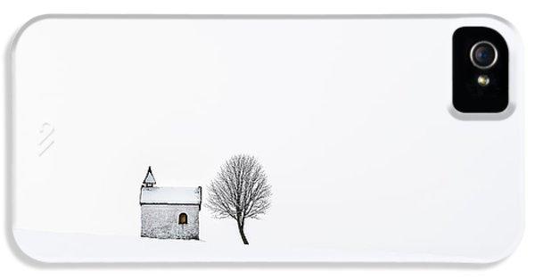 Chapel iPhone 5 Case - The Chapel by Tom Meier