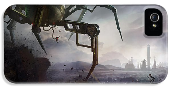 Insect iPhone 5 Case - The Chase by Kristina Vardazaryan
