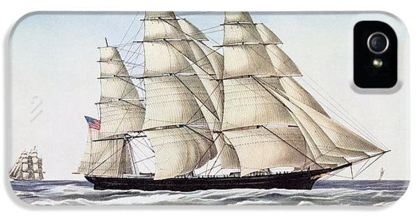 The Clipper Ship Flying Cloud IPhone 5 Case by Anonymous