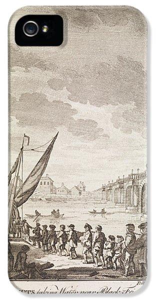 The Convicts ... Near Blackfrairs Bridge IPhone 5 Case by British Library