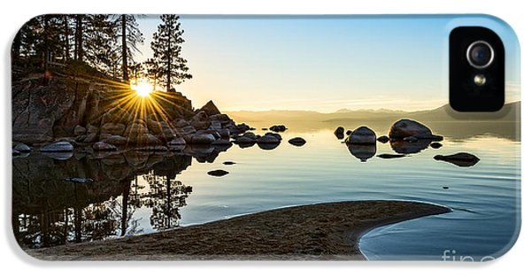The Cove At Sand Harbor IPhone 5 Case by Jamie Pham