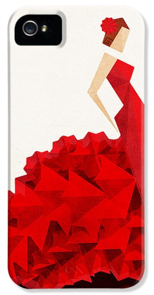 The Dancer Flamenco IPhone 5 Case by VessDSign
