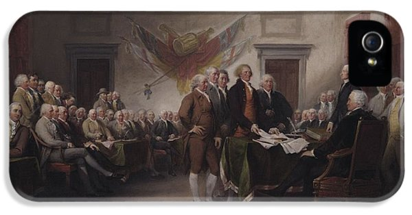 The Declaration Of Independence, July 4, 1776 IPhone 5 Case
