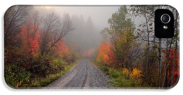 The Dirt Road IPhone 5 Case by Leland D Howard