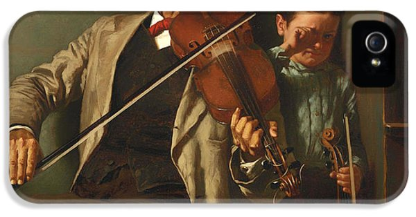 Violin iPhone 5 Case - The Duet by Mountain Dreams
