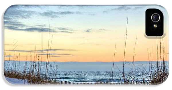 The Dunes Of Pc Beach IPhone 5 Case by JC Findley