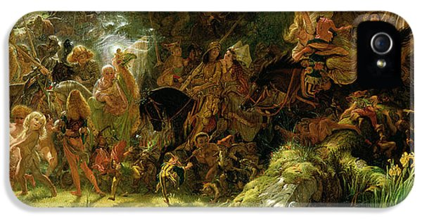 The Fairy Raid IPhone 5 Case by Sir Joseph Noel Paton