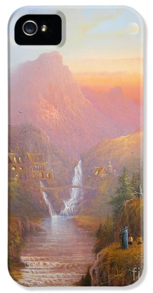 The Fellowship Of The Ring IPhone 5 Case by Joe  Gilronan