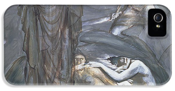 The Finding Of Medusa, C.1876 IPhone 5 Case by Sir Edward Coley Burne-Jones