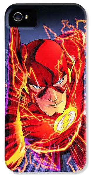 The Flash IPhone 5 Case by FHT Designs