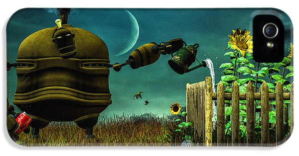 The Gardener IPhone 5 Case by Bob Orsillo