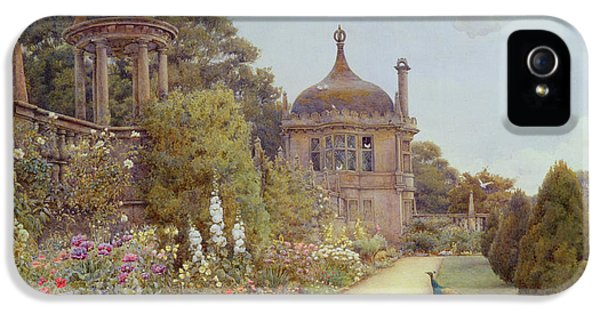 The Gardens At Montacute In Somerset IPhone 5 Case by Ernest Arthur Rowe