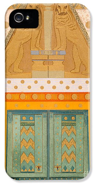 The Gateway Of Troy IPhone 5 Case by Francois-Louis Schmied