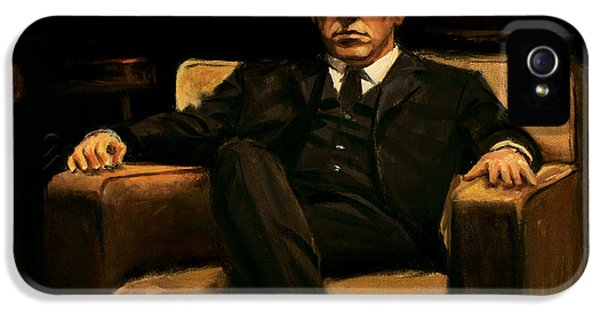 The Godfather IPhone 5 Case by Christopher Panza