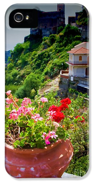 The Godfather Villages Of Sicily IPhone 5 Case by David Smith