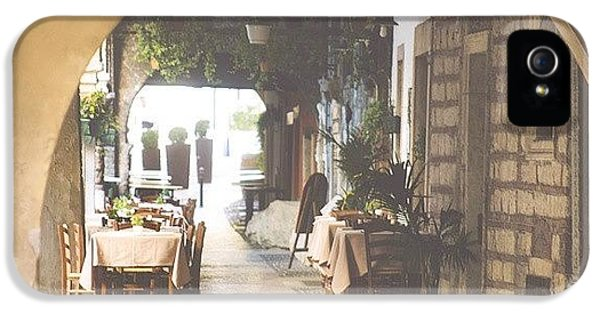 The Good Life  #italy #summer #dine IPhone 5 Case
