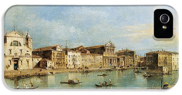 The Grand Canal IPhone 5 Case by Francesco Guardi