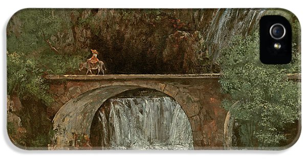 The Great Bridge, 1864 IPhone 5 Case by Gustave Courbet