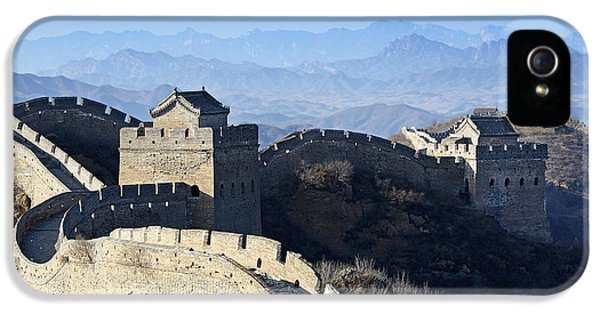 The Great Wall - China IPhone 5 Case by Brendan Reals