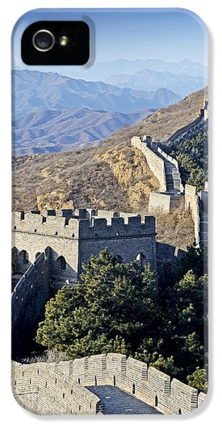 The Great Wall Of China IPhone 5 Case by Brendan Reals