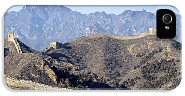 The Great Wall Of China - Jinshanling IPhone 5 Case by Brendan Reals