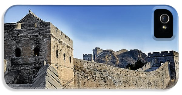 The Great Wall Of China - Landscape IPhone 5 Case by Brendan Reals