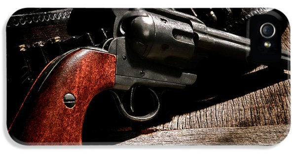 The Gun That Won The West IPhone 5 Case by Olivier Le Queinec