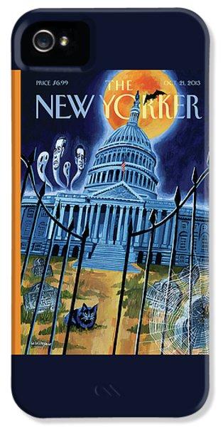 The House Republicans Haunt The Captiol Building IPhone 5 Case