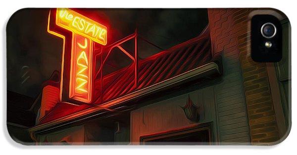 The Jazz Estate IPhone 5 Case by Scott Norris