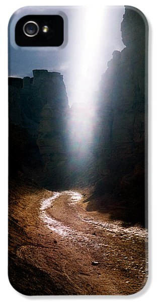 The Land Of Light IPhone 5 Case by Dubi Roman