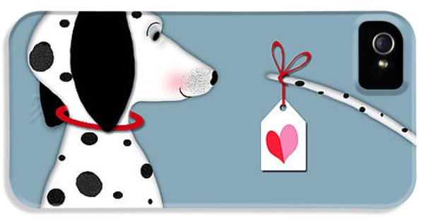 The Letter D For Dalmatian IPhone 5 Case