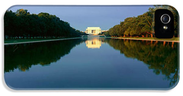 The Lincoln Memorial At Sunrise IPhone 5 Case by Panoramic Images