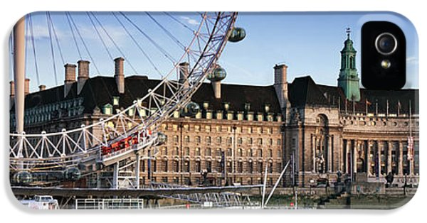 The London Eye And County Hall IPhone 5 Case by Rod McLean
