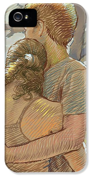 The Lovers IPhone 5 Case by Dominique Amendola
