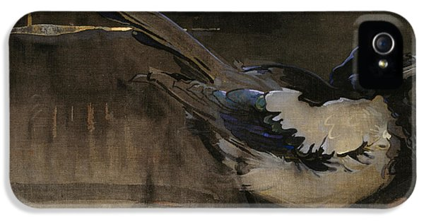 The Magpie IPhone 5 Case by Joseph Crawhall