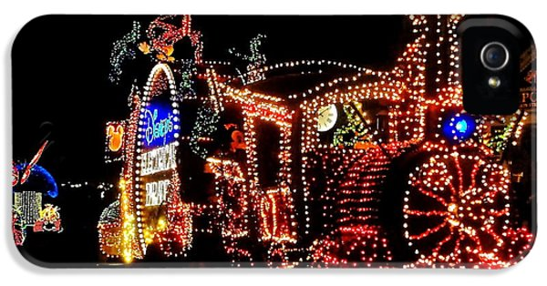 The Main Street Electrical Parade IPhone 5 Case by Benjamin Yeager