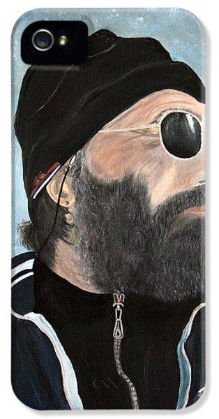 The Man Who Stole My Heart.. IPhone 5 Case by Jolanta Anna Karolska