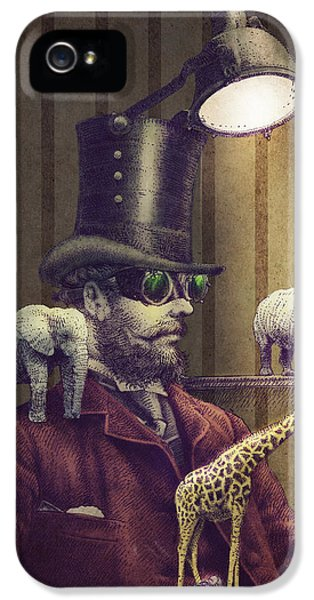The Miniature Menagerie IPhone 5 Case by Eric Fan