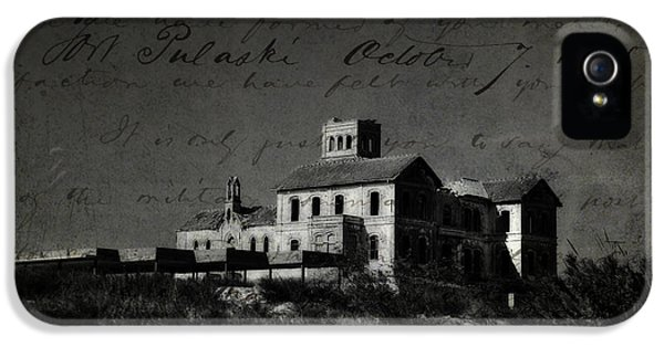 The Most Haunted House In Spain. Casa Encantada. Welcome To The Hell IPhone 5 Case