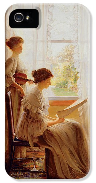 The Music Lesson, C.1890 IPhone 5 Case by American School