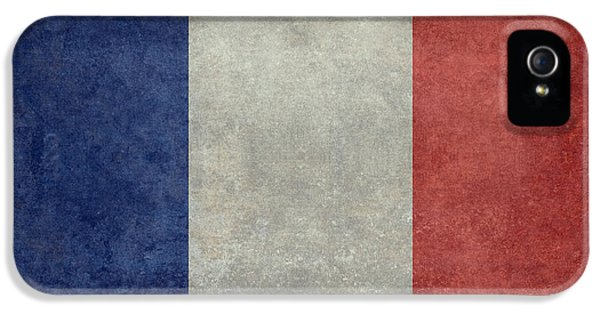 The National Flag Of France IPhone 5 Case by Bruce Stanfield