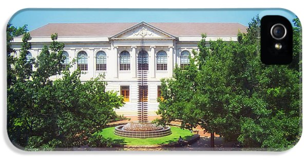 University Of Arkansas iPhone 5 Case - The Old Main - University Of Arkansas by Mountain Dreams
