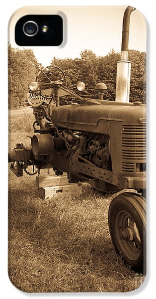 The Old Tractor IPhone 5 Case