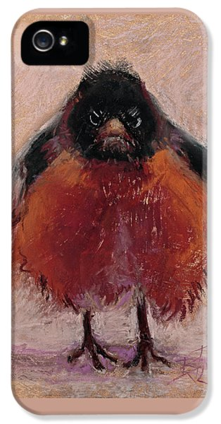 The Original Angry Bird IPhone 5 Case by Billie Colson