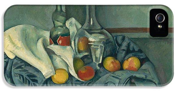 The Peppermint Bottle IPhone 5 Case by Paul Cezanne