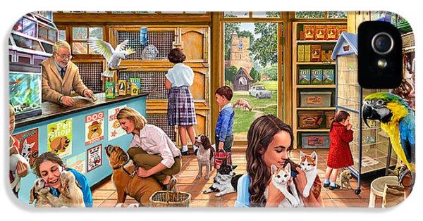 The Pet Shop IPhone 5 / 5s Case by Steve Crisp