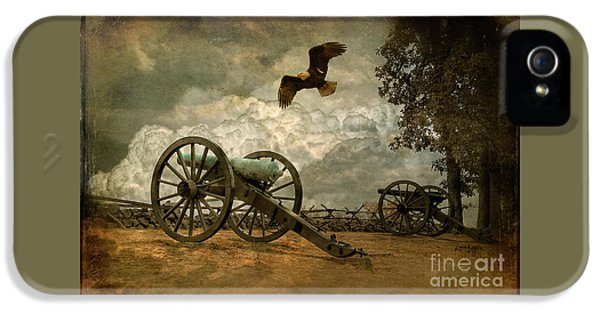The Price Of Freedom IPhone 5 Case by Lois Bryan